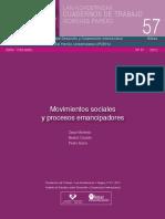 Movimientos sociales y procesos emancipadores Cuaderno 57 Hegoa