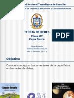 Teoria de Redes - Tema 02 - Capa Física