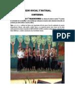 Periodico Mural y Mi Comunidad Seño Marta
