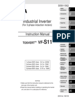 Toshiba VF S11 Manual