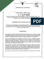Decreto 1590 Del 29 de Septiembre de 2017