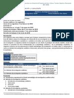 Metodologías de Investigación y Consultoría
