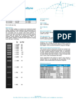 6201 Data Sheet 1 Kb Dna Ladder Ready to Load