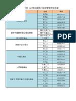 【住宿教育】105學年度第六屆榮譽學長姐名單