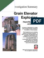 Fire Investigation Summary 2-1998