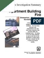 Fire Investigation Summary 3-1997