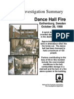 Fire Investigation Summary 6-1998