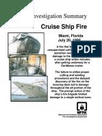 Fire Investigation Summary 8-1998