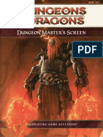 D&D 4th Edition Dungeon Master's Screen[1]