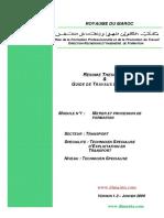Module 01 Metier Et Processus de Formation Tra Tset