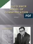 Berlos SMCR Model of Communication Final
