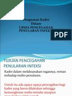 2.Penguatan Kader Komunitas Dalam Pencegahan Infeksi