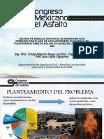 11 Modificacion de Una Mezcla Asfaltica Con Caucho y Plastico de Bolsas de Leche Con Asfalto 80-100