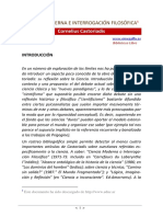 Castoriadis, Cornelius. Ciencia moderna e interrogación filosófica.pdf