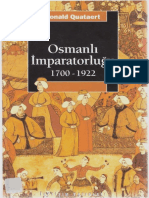 Donald Quartaert - Osmanlı İmparatorluğu 1700 - 1922