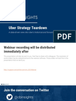 Uber Strategy Teardown