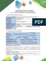 Guía de Actividades y Rúbrica de Evaluación - Etapa de Inicio