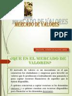 1. Instituciones Del Mercado de Valores