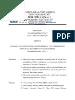 SK Kapus Penanggung Jawab UKM Dan Pelaksana Memfasilitasi PSM