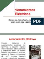 Accionamientos Eléctricos - Manejo de Elementos Básicos de Accionamientos Eléctricos