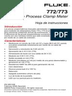 Fluke 772 773 User Manual