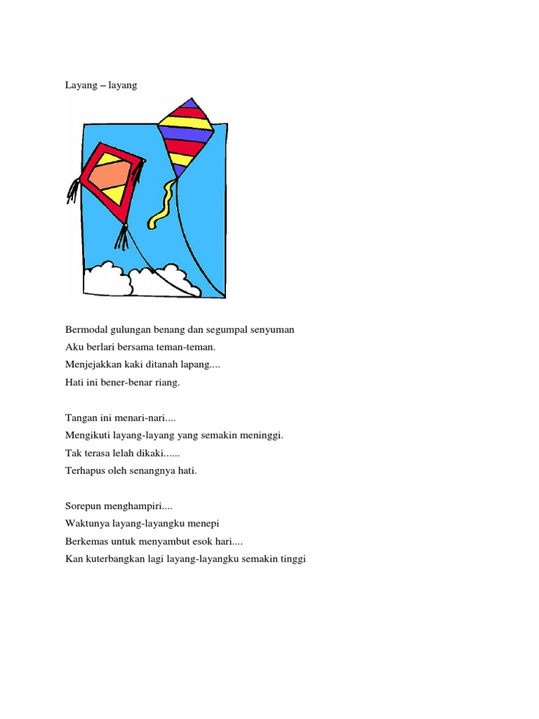 Puisi Iya Kan Bener