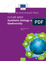 Synthetic Biology Biodiversity