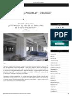 Uso Del Diseño Inelástico - Eliud Hernandez - Zigurat