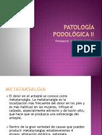 Metatarsalgias y Neuroma de Morton
