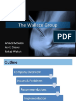 Mgmt508 the Wallace Group Case