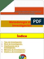SESION N° 06 - METODOLOGIA DE LA INVESTIGACION