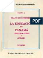 Historia de Panamá y la educación