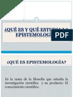 Clase 1 - Epistemología