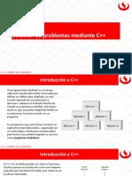 Sesion 2 - Solucion de Problemas Mediante CPlusPlus