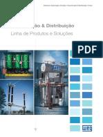 WEG Transmissao Distribuicao Linha de Produtos e Solucoes 50022708 20 Catalogo Portugues Br