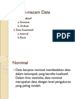 Contoh Data Kualitatif Dan Kuantitatif