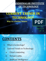 PPT - Current Trends in Technology