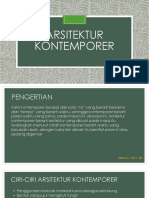 Arsitektur Kontemporer New
