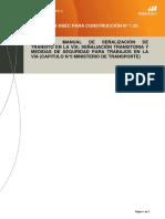 ESTÁNDAR N°1.25 (caratula) Manual de Señalización de Transit