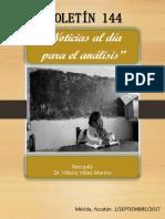 BOLETÍN 144 RECOPILACIÓN DE NOTICIAS SOBRE EDUCACIÓN