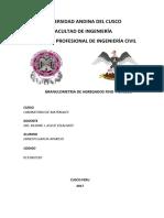 informe AG y AF