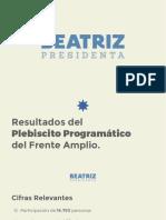 Result a Dos Plebiscito