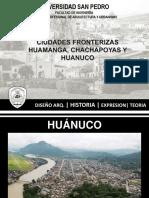 CIUDADES FRONTERIZAS huanuco