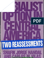 Shafik Jorge Handal, Carlos María Vilas the Socialist Option in Central America Two Reassessments (1)