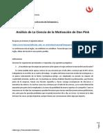 3. Análisis de La Ciencia de La Motivación de Dan Pink (PA)(1)