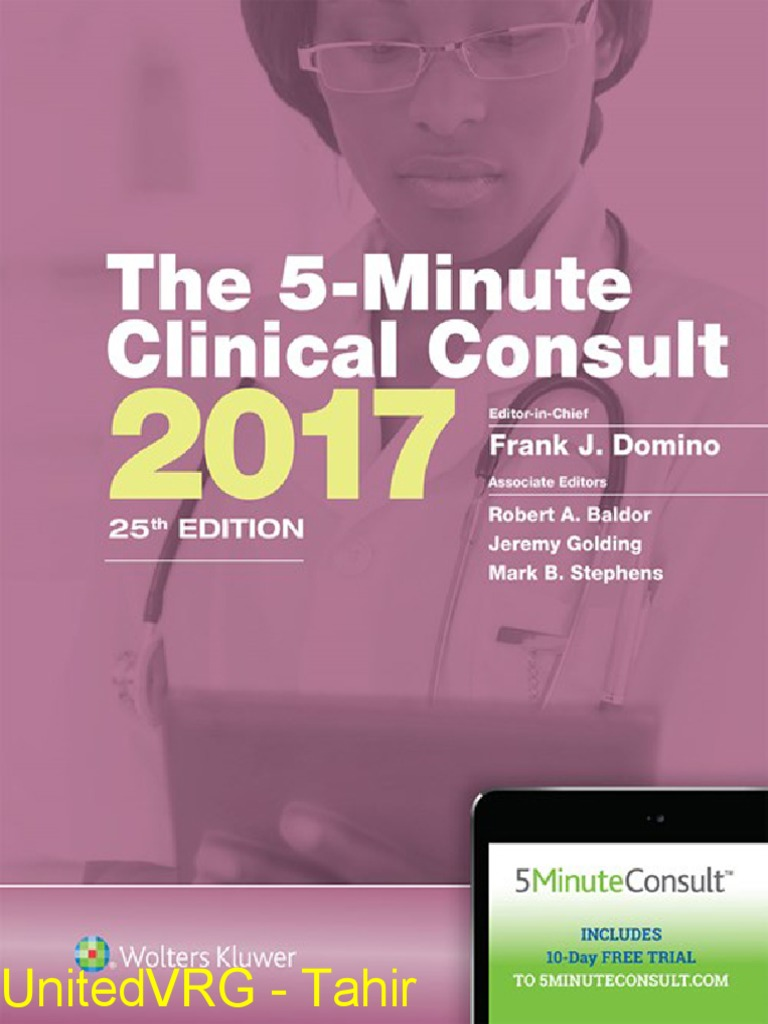 Griffith's 5 Minute Clinical Consult Standard) Frank J