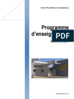 Programme Enseignement 2016-2017