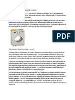 Fundamentos Del Transformador de Corriente