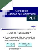 Conceptos Básicos de Resistividad