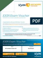 Voucher Desconto Certificação ITIL